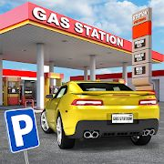 Скачать Gas Station: Car Parking Sim (Взлом на монеты) версия 2.5 apk на Андроид