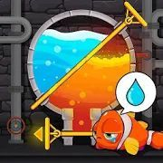Скачать Water Puzzle - Fish Rescue & Pull The Pin (Взлом на монеты) версия 1.0.20 apk на Андроид