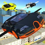Скачать Flying Car Transport Simulator (Взлом на монеты) версия 1.26 apk на Андроид