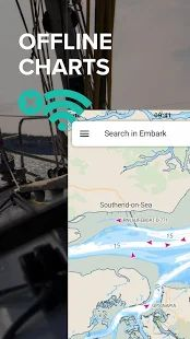 Скачать C-MAP - Marine Charts. GPS navigation for Boating (Неограниченные функции) версия 3.2.77 apk на Андроид