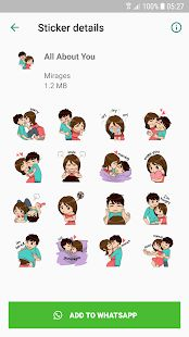 Скачать Love Story Stickers - WAStickerApps (Неограниченные функции) версия 1.0 apk на Андроид