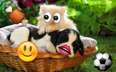 Скачать Emoji Photo Sticker Maker Pro (Без Рекламы) версия 3.0.1 apk на Андроид