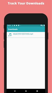 Скачать Song Downloader - SongTik (Без кеша) версия 1.10 apk на Андроид